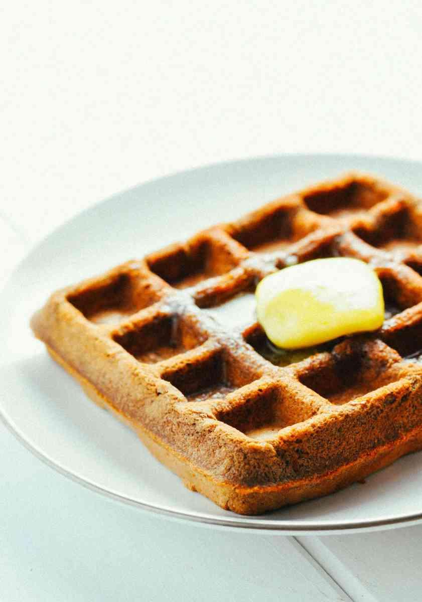 Chocolate Protein Waffles [Recipe]