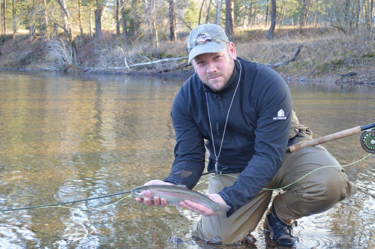 Kettle river q a how are the fish doing in our rivers for How to fish for trout in a river