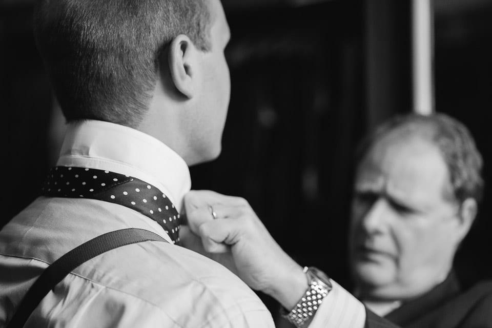 Groom tailored suit