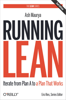 Pic of book: Running Lean by Ash Maurya