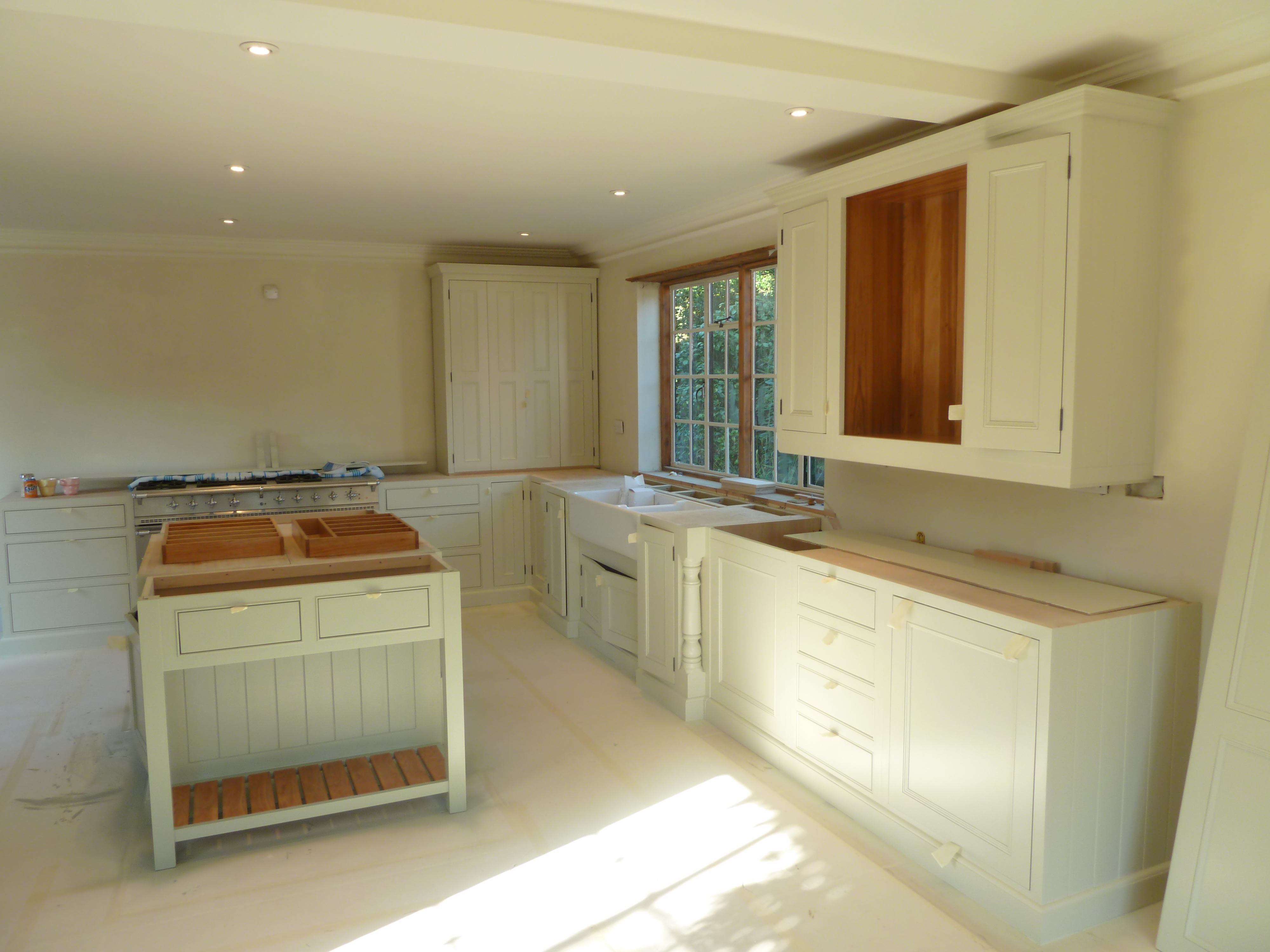 hand painted kitchen surrey 2 spray painting kitchen cabinets Hand painted kitchen Surrey