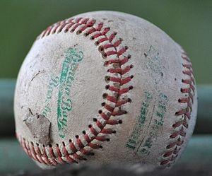 300px-A_worn-out_baseball19