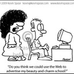Cartoon: Advertising on the Web