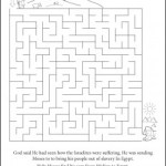 Activity Page: Moses/Egypt Maze