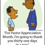 Pastoral Thanks