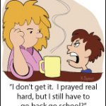 Cartoon: Praying Back to School