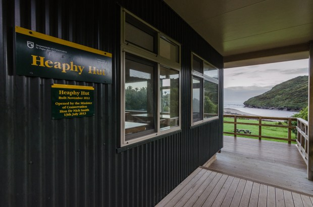 Heaphy Hut, Heaphy Track