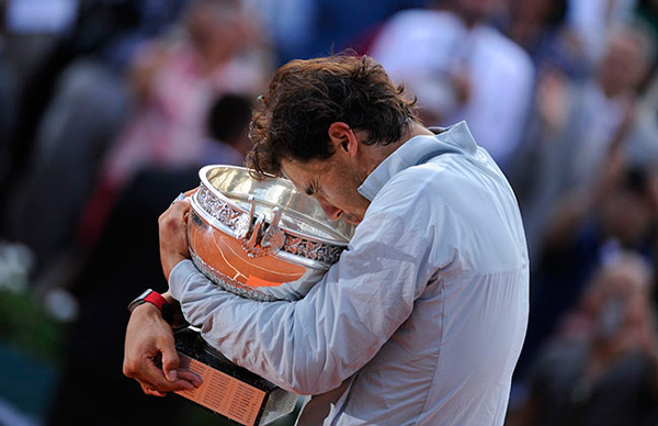 Rafa Nadals wins his record 9th French Open title (© FFT)