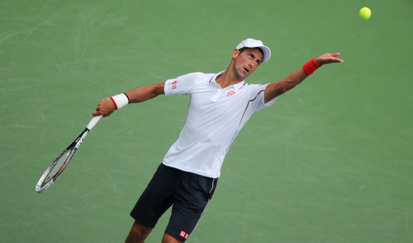 Novak Djokovic (Pete Staples/usopen.org)