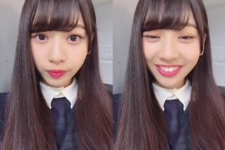 笑顔の富田鈴花さん