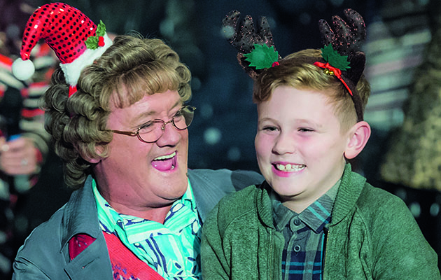 It wouldn't be Christmas if some catastrophe didn't befall Mrs Brown and her Christmas tree.