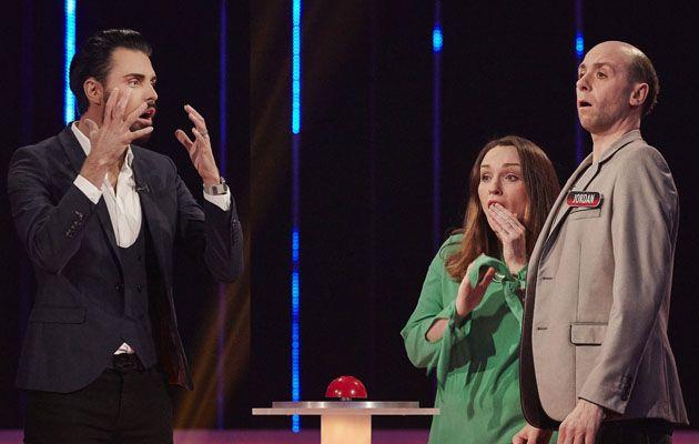Babushka shocked couple