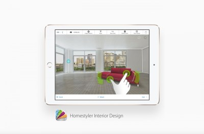 'Homestyler Interior Design' app for Android or Apple ...