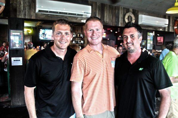 Pat Croce and Company's big three: Michael Schultz, Michael Croce and David Thibault.