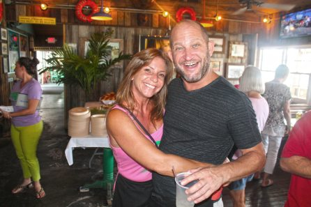 He may work at the world's smallest bar, but John and Sue Wildrick have a pair of the biggest hearts and are strong supporters of the cause.