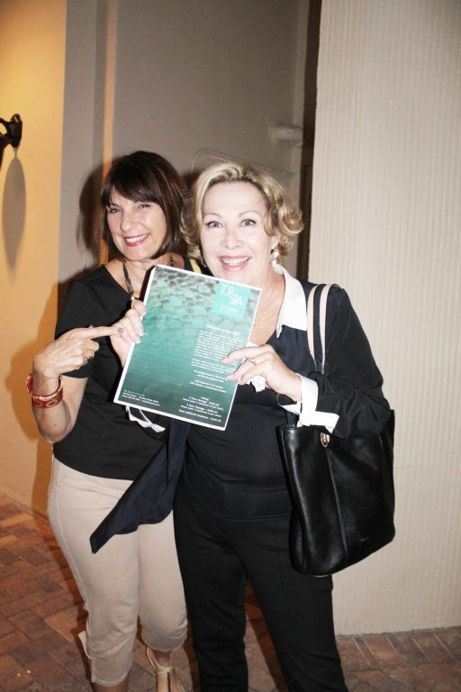 It's never a party until Red Barn Theater's Mimi McDonald and Key TV's Marjorie Pual-Shook arrive. The dazzling pair of friends posed for a pic outside of La Concha's signature restaurant, 430 Duval.