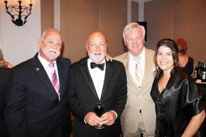 City Commissioner Tony Yaniz, Ed Russo, Waste Management's Greg Sullivan and Key West Chamber President Elect, Jennifer Hulse.