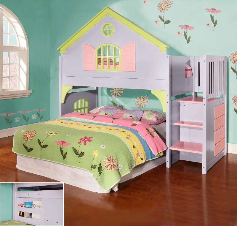 Large Of Girls Loft Bed