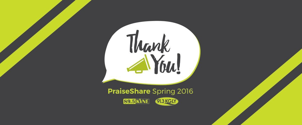 91.3 KGLY East Texas Christian Radio Station 2016 Spring PraiseShare Thank You!