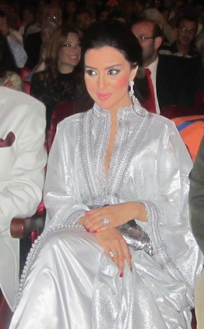 Mayssa Maghrebi in Mertil Film Festival 2013 in Morocco