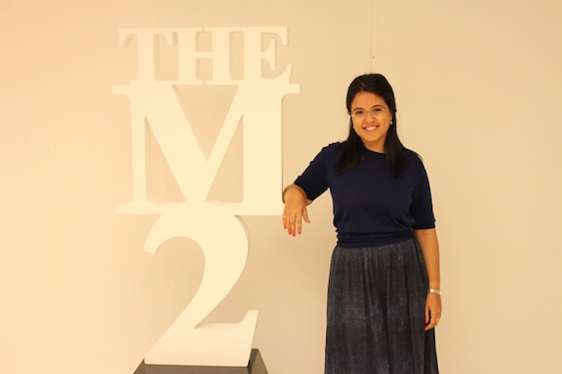 Noaf Hussein, the organizer of the M2 Event