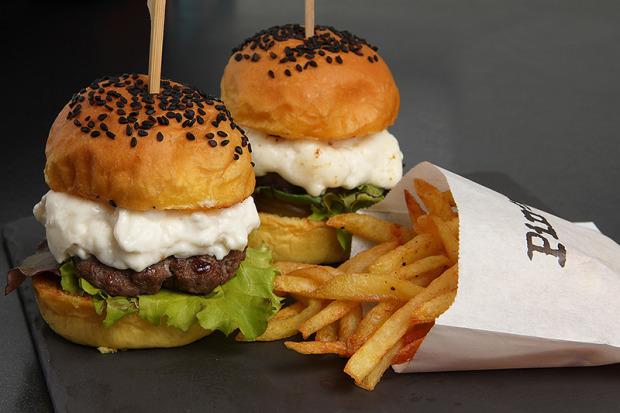 Buratta Burgers