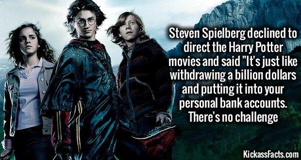 1119 Harry Potter movies