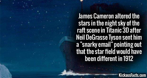 1175 Stars in Titanic