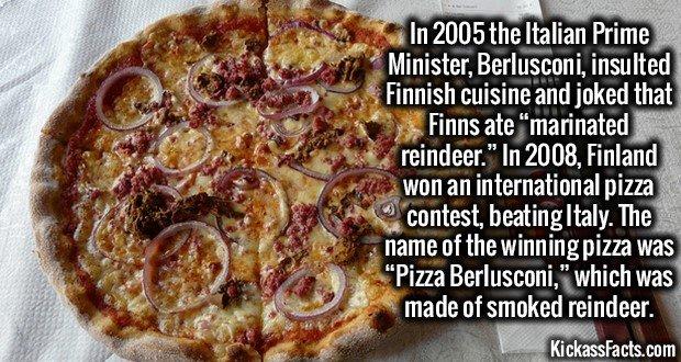 1800 Pizza Berlusconi