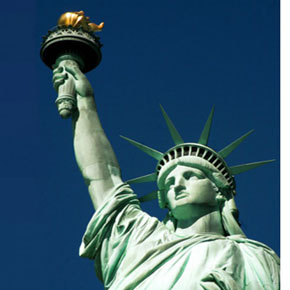 Lady Liberty - style icon; national treasure