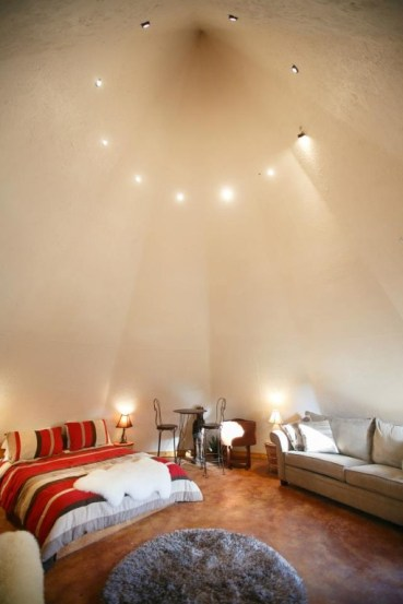 Satellite TV and A/C included -the tipi just got an upgrade.