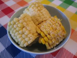 Cheesy Corn , perfect for the grill.