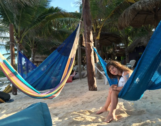 Hammock-side service is available at La Buena Vida.