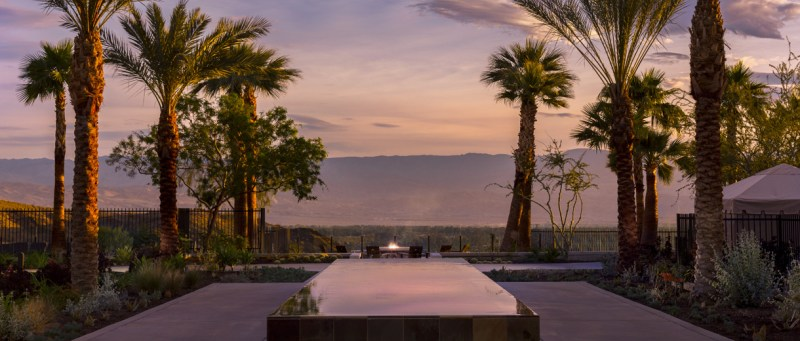 Dusk ushers in cooling temperatures and the magic of night in the desert.