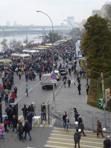 Trolleybus parade 2015 Moscow