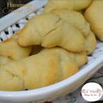 The best homemade Crescent Rolls! Make ahead and freeze for company or the holidays! www.kidfriendlythingstodo.com