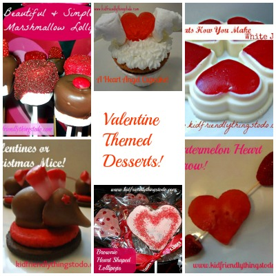 Valentines day dessert ideas kid friendly things to do for Kid friendly valentine recipes