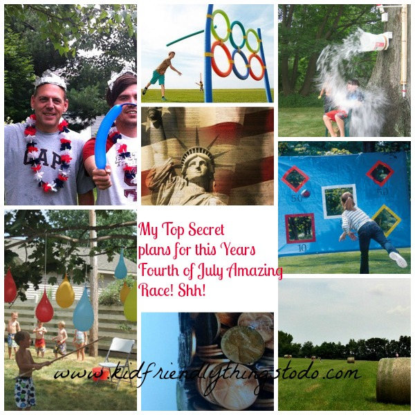 My Annual Fourth of July Amazing Race - Kid Friendly Things To Do .com