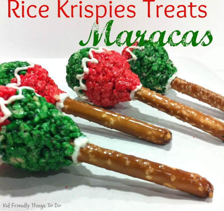 How To Make Rice Krispies Treats Maracas