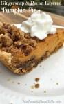 Gingersnap and Pecan Layered Pumpkin Pie Recipe
