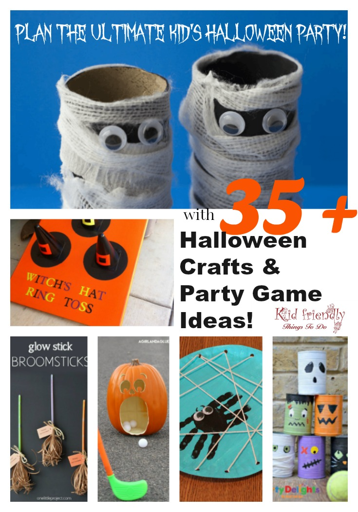 35 Halloween Crafts and Games for Kids