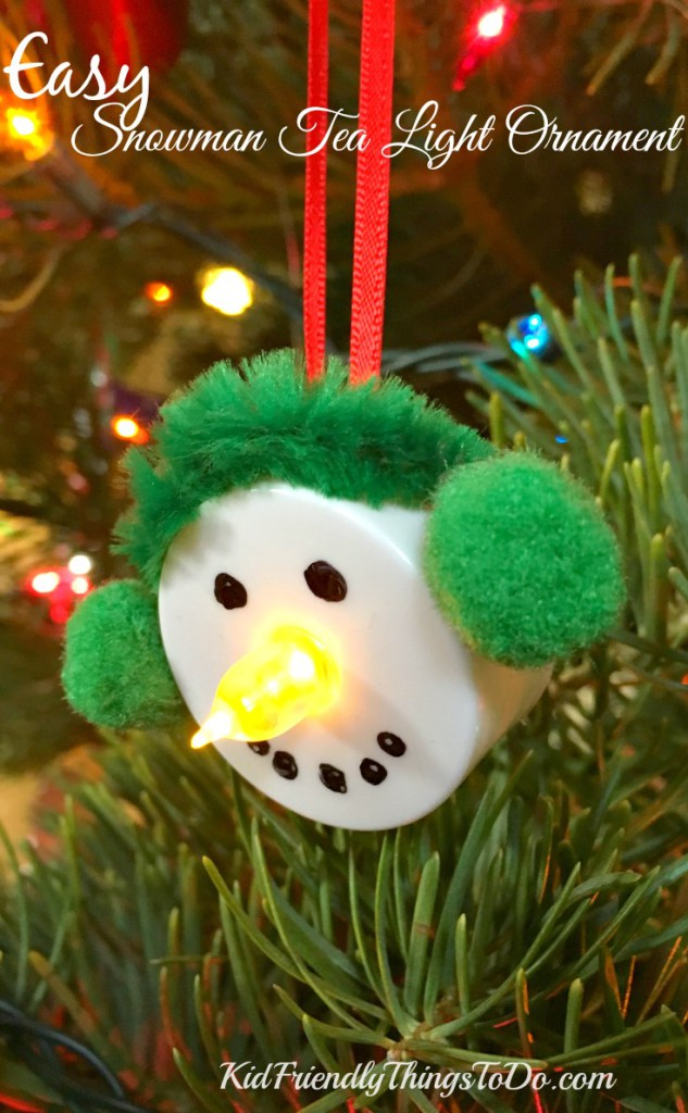 Over 30 easy christmas fun food ideas crafts kids can for Christmas tree decorations you can make at home