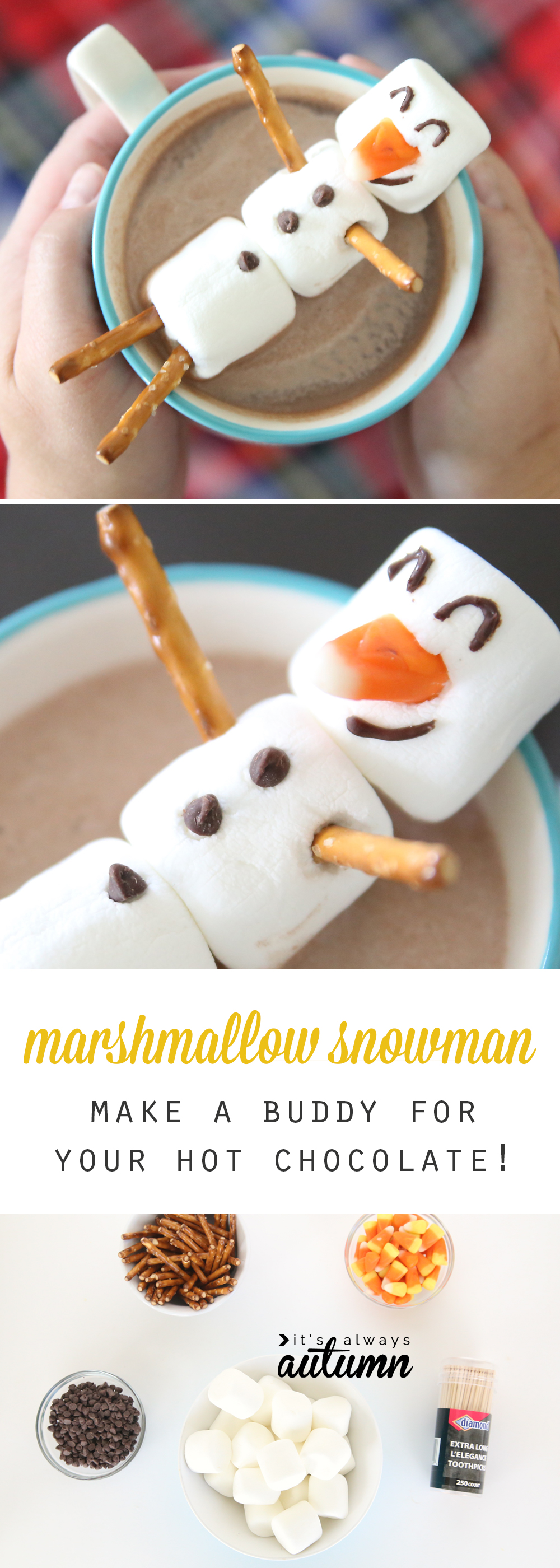 Over 30 winter themed fun food ideas and easy crafts kids for Crafts to make with toddlers