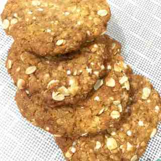 healthy-ish anzac biscuits