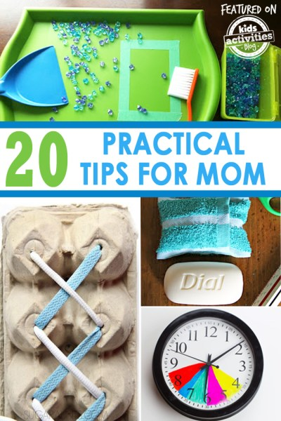 20 Practical Mom Tips You Need Right Now