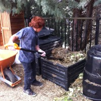 What's worthy of a 100th post?  Compost!