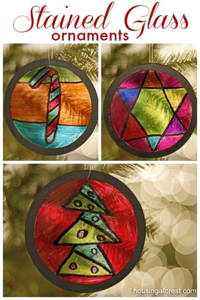 Stained-Glass-Ornaments