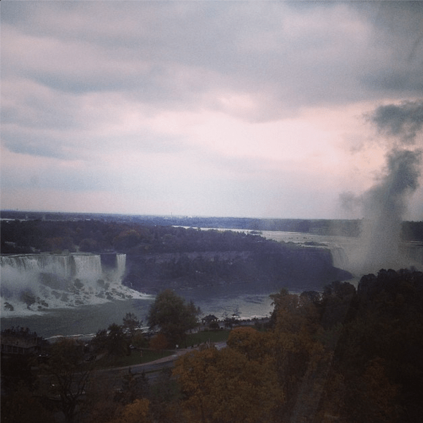 Overcoming Acrophobia Niagara Falls from the Skywheel | KidsOnAPlane.com #IGTravelThursday #NiagaraFalls #Ontario #Travel #Canada