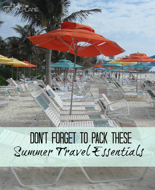 Summer Travel Essentials - Packing Tips from P&G #PGMom
