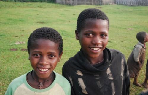Dorze, Ethiopia Kids